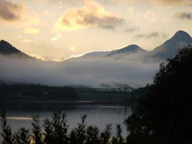 Sunrise at the Ballachulish Bridge