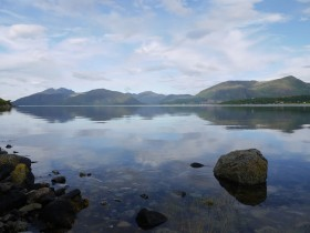 View across Loch Linnhe from Craiglinnhe
